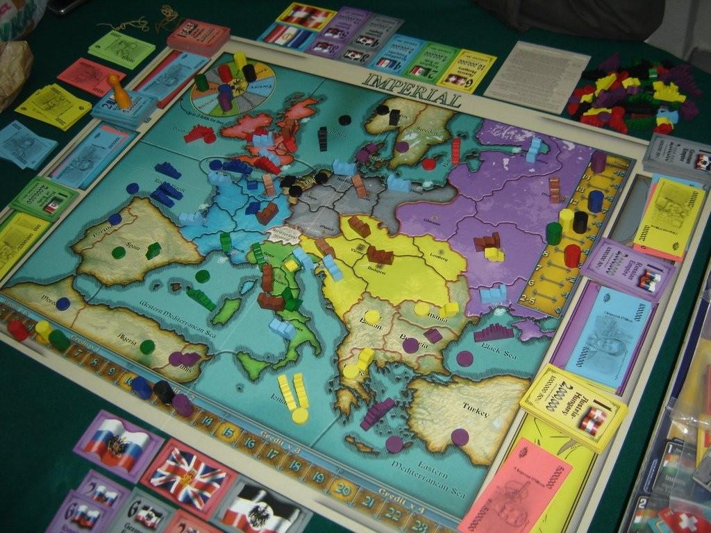 Le plateau de jeu : l'Europe du début du XXe.