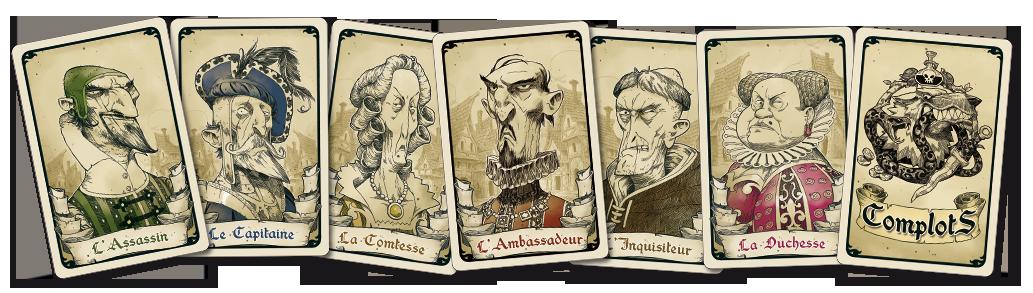 Complots cartes