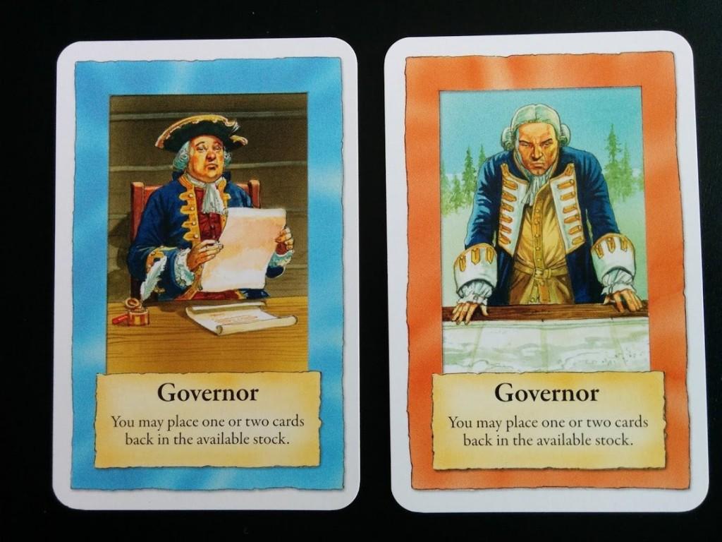 Le Gouverneur quant à lui permet d'épurer votre deck des cartes qui ne vous servent pas ou peu.
