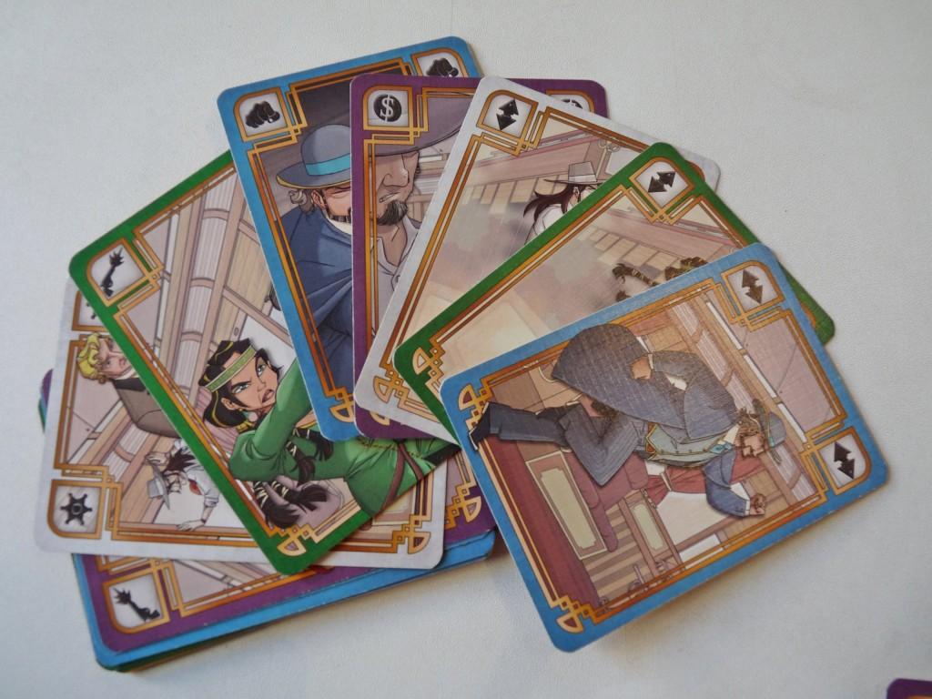 Colt express cartes
