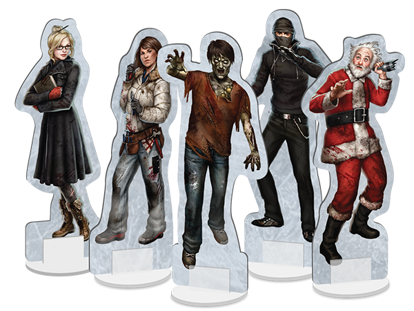 Dead of Winter personnages