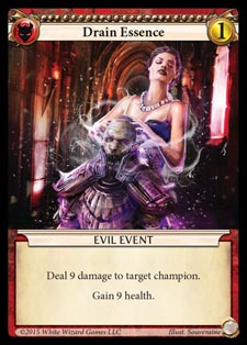 [Duel - Cartes] EPIC Card Game Drain_essence