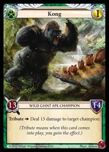 [Duel - Cartes] EPIC Card Game Kong