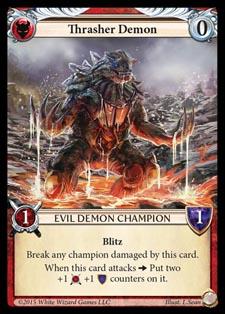 [Duel - Cartes] EPIC Card Game Thrasher_demon