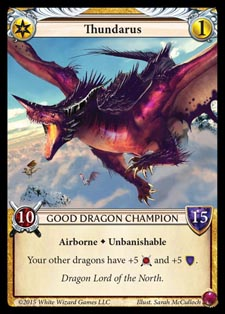 [Duel - Cartes] EPIC Card Game Thundarus