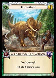 [Duel - Cartes] EPIC Card Game Triceratops