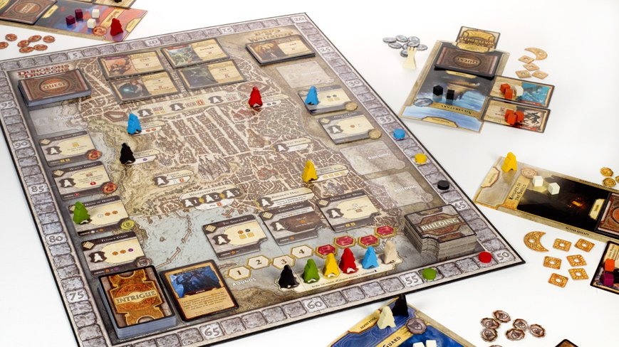 Lords of Waterdeep plateau