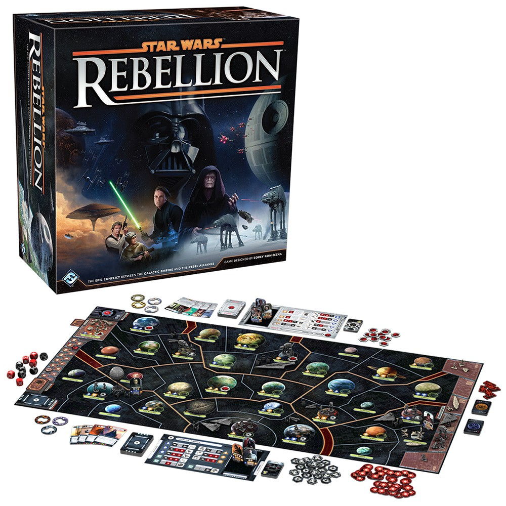 Star Wars Rebellion boite