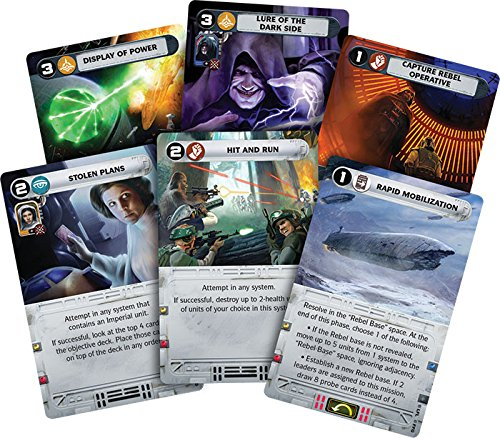 Star Wars Rebellion cartes