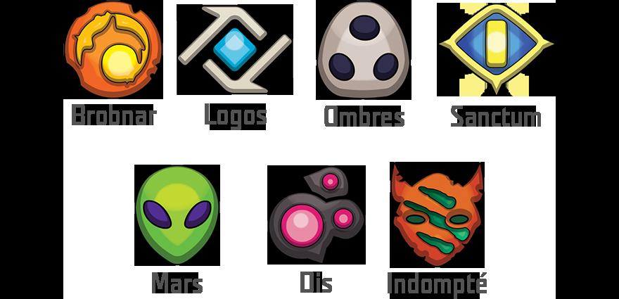 keyforge types