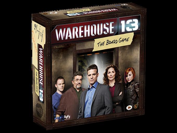 warehouse 13 boite